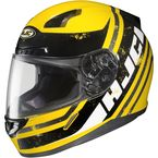 Yellow/Black/White MC-3 CL-17 Victory Helmet - 826-936