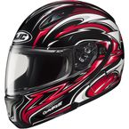CL-Max II BT Black/Red/White MC-1 Atomic Modular Helmet - 976-913