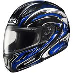 CL-Max II BT Black/Blue/White MC-2 Atomic Modular Helmet - 976-924