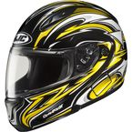 CL-Max II BT Black/Yellow/White MC- Atomic Modular Helmet - 976-933