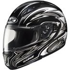 CL-Max II BT Black/Charcoal/White MC-5 Atomic Modular Helmet - 976-952