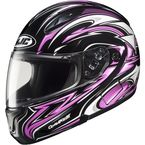 CL-Max II BT Black/Pink/White MC-8 Atomic Modular Helmet - 976-982