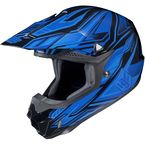 Blue/Black MC-2 CL-X6 Fulcrum Helmet - 738-926