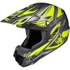 Hi-Vis Yellow/Charcoal MC-3H CL-X6 Fulcrum Helmet - 738-936