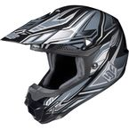 Charcoal/Black MC-5 CL-X6 Fulcrum Helmet - 738-957