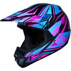 Youth Pink/Blue/Black MC-8 CL-XY Fulcrum Helmet - 278-984