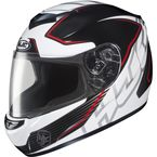 White/Black/Red MC-1 CS-R2 Injector Helmet - 218-914