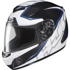 White/Black/Blue MC-2 CS-R2 Injector Helmet - 218-924