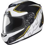 White/Black/Yellow MC-3 CS-R2 Injector Helmet - 218-932