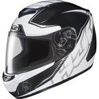 White/Black/Silver MC-5 CS-R2 Injector Helmet - 218-954