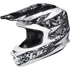 White/Black MC-10 FG-X Driven Helmet - 338-906