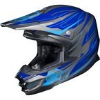 Blue/Charcoal MC-2 FG-X Talon Helmet - 336-924