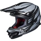 Black/Silver MC-5 FG-X Talon Helmet - 0867-1205-07