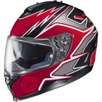 Red/Black/Charcoal MC-1 IS-17 Intake Helmet - 584-912