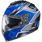 Blue/Black/Charcoal MC-2 IS-17 Intake Helmet - 584-926