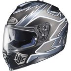 Black/Silver/Charcoal MC-5 IS-17 Intake Helmet - 584-956