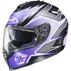 Purple/Black/Charcoal MC-8 IS-17 Intake Helmet - 584-986