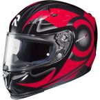 Red/Black MC-1 RPHA-10 Buzzsaw Helmet - 1588-916