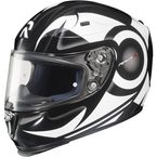 White/Black MC-10 RPHA-10 Buzzsaw Helmet - 1588-906