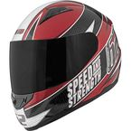 Gloss Black/Red SS1100 62 Motorsports Helmet - 87-6734
