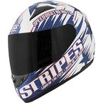 Gloss Red/White/Blue SS1100 Stars and Stripes Helmet - 87-6745