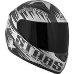 Matte Black SS1100 Stars and Stripes Helmet - 87-6750