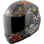 Gloss Black/Multi SS1500 Killer Queen Helmet  - 87-7383
