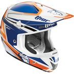 Navy/Orange Verge Flex Helmet - 0110-3832