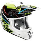 Fluorescent Green Verge Stack Helmet  - 0110-3846
