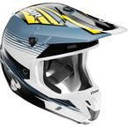 Steel/Yellow Verge Corner Helmet  - 0110-3856