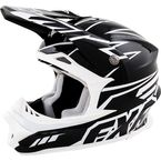 Black and White Blade Helmet - 14410