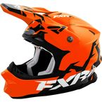 Orange/Matte Black Blade Helmet
