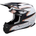 White/Black X1 Helmet
