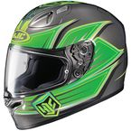 Green/Charcoal FG-17 Banshee MC-4 Helmet  - 0817-1504-06
