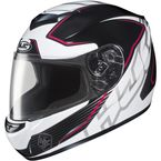 Black/White/Pink CS-R2 Injector MC-8 Helmet - 0851-1708-05