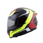 Neon Green/Black/Red/White EXO-R2000 Dispatch Helmet  - 200-3505