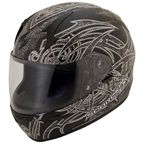 Black Multi-Colored EXO-R410 Slinger Helmet  - 41-2033