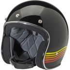 Black/Orange Bonanza LE Spectrum Helmet - BH-GBO-LE-SPT-XSM
