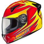 Red/Yellow/Black MC-1 R1000X Lithium Helmet - 158-914