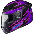 Purple/Black/Pink MC-8 R1000X Lithium Helmet - 158-981