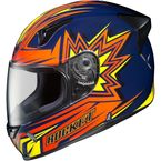 Navy/Orange/Yellow MC-2 R1000X Blaster Helmet - 162-926