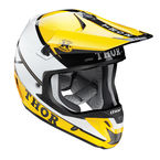 Yellow/Black Verge Pro GP Helmet  - 0110-3967