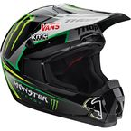 Black/Green/Silver Quadrant Pro Circuit Replica Helmet - 0110-3980