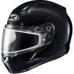 Black CL-17SN Helmet w/Frameless Dual Lens Shield - 1151-0105-10