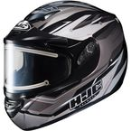 Silver/Black Multi CS-R2SN MC-5 Sawtooth Helmet with Framed Electric Shield - 021-956