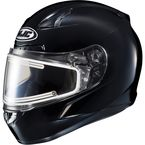 Black CL-17SN Helmet w/Frameless Electric Shield - 1251-0105-10