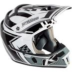 Black/Gray/White F4 Legacy Helmet - 5106-001-130-004