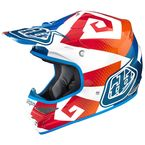 Blue/Orange/Red/White Air Vega Helmet - 0115-0310