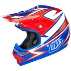 White/Blue/Red Air Charge Helmet - 0115-5111