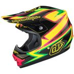 Yellow/Green/Black Air Charge Helmet - 0115-5507